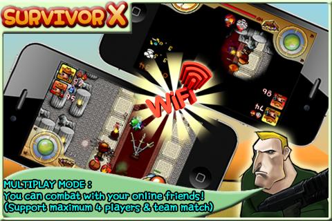 Screenshot SurvivorX